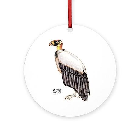King Vulture Bird Keepsake (Round)