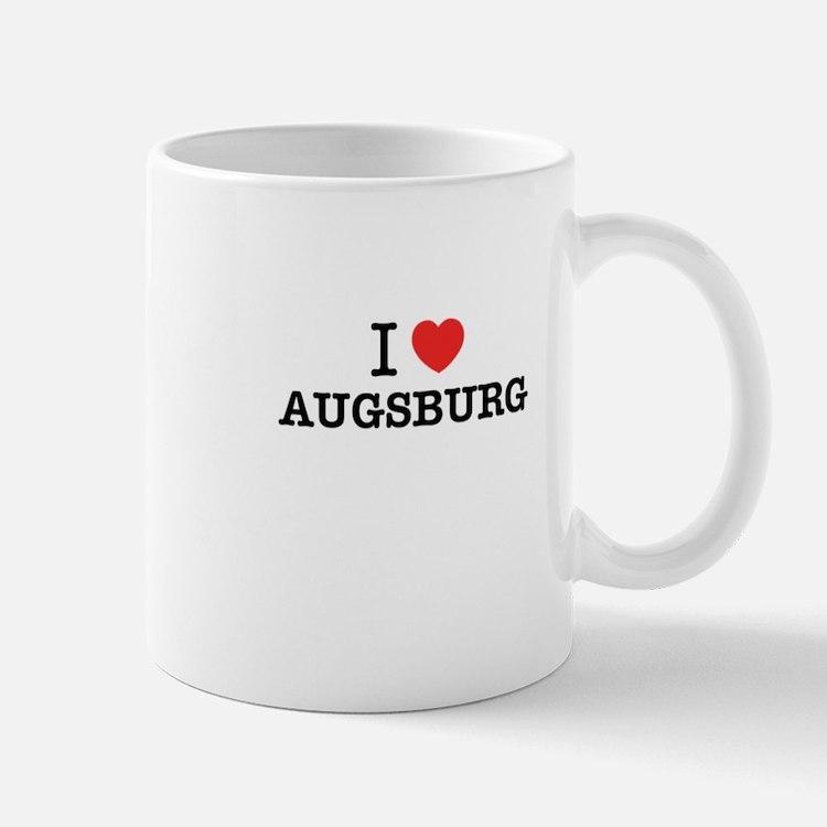I Love AUGSBURG Mugs