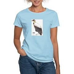 King Vulture Bird Women's Pink T-Shirt