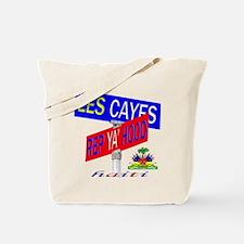 REP LES CAYES Tote Bag