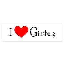 Ginsberg Bumper Bumper Sticker
