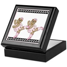 Ballerina Bears II Keepsake Box