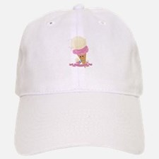 Happy Ice Cream Cone Baseball Baseball Cap