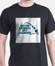Boston Cornhole City Champion T-Shirt