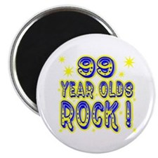 99 Year Olds Rock ! Magnet