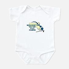 Massachusetts Bag Toss State Infant Bodysuit