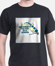 Massachusetts Bag Toss State T-Shirt