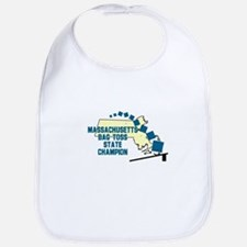 Massachusetts Bag Toss State Bib