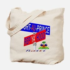 REP PORT AU PRINCE Tote Bag