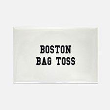 Boston Bag Toss Rectangle Magnet