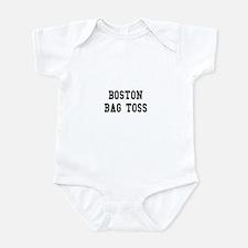Boston Bag Toss Infant Bodysuit