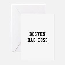 Boston Bag Toss Greeting Cards (Pk of 10)