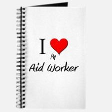 I Love My Aid Worker Journal