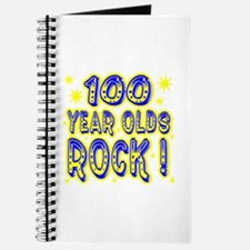 100 Year Olds Rock ! Journal