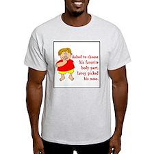 Leroy's Nose Ash Grey T-Shirt