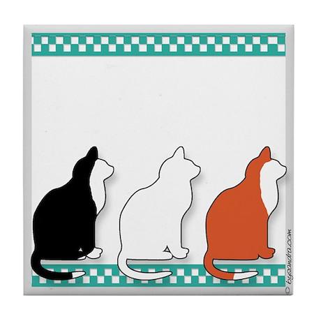 Meow! Tile Coaster