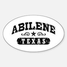 Abilene Texas Decal