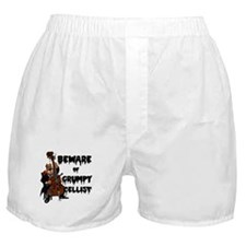 Grumpy Cellist Boxer Shorts