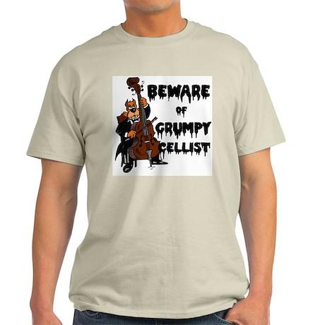Grumpy Cellist Light T-Shirt
