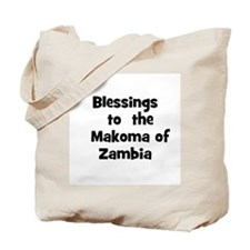 Blessings  to  the  Makoma of Tote Bag