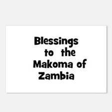 Blessings  to  the  Makoma of Postcards (Package o