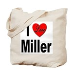 I Love Miller Tote Bag