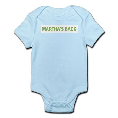 Martha's Back Infant Creeper