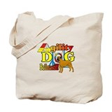 Dogs bullmastiff agility Canvas Totes