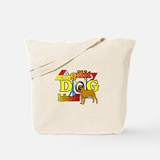 Bullmastiff Agility Tote Bag