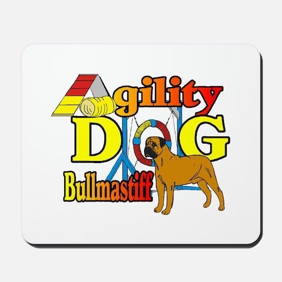 Bullmastiff Agility Mousepad