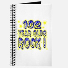 102 Year Olds Rock ! Journal