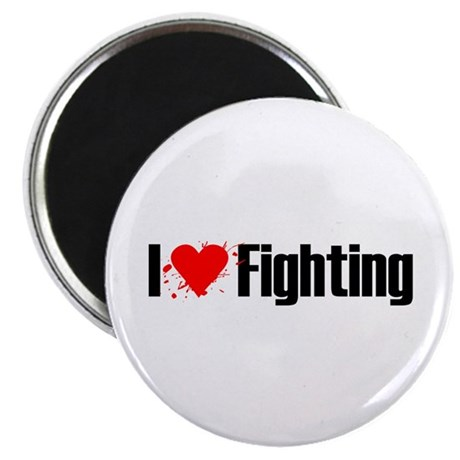 "I love fighting 2.25"" Magnet (10 pack)"