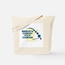 Minnesota Cornhole State Cham Tote Bag