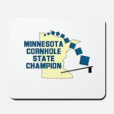 Minnesota Cornhole State Cham Mousepad