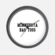 Minnesota Bag Toss Wall Clock