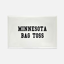Minnesota Bag Toss Rectangle Magnet