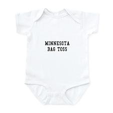 Minnesota Bag Toss Infant Bodysuit