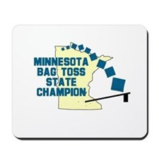 Minnesota Bag Toss State Cham Mousepad