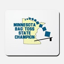 Minnesota Bag Toss State Cham Mousepad
