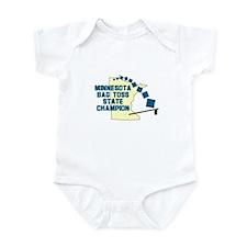 Minnesota Bag Toss State Cham Infant Bodysuit