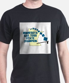 Minnesota Bag Toss State Cham T-Shirt