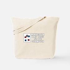 Minnesota Bag Toss State Cham Tote Bag