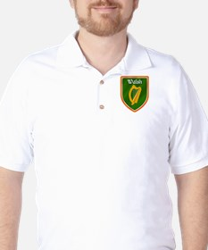 Walsh Family Crest Golf Shirt
