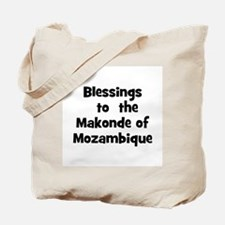 Blessings  to  the  Makonde o Tote Bag