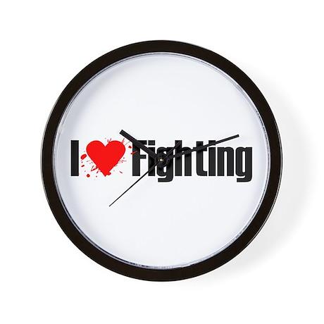 I love fighting Wall Clock