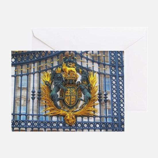 Cute Buckingham palace Greeting Card