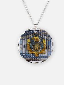 Funny Buckingham palace Necklace