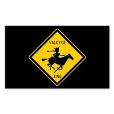 Valkyrie Crossing Rectangle Decal