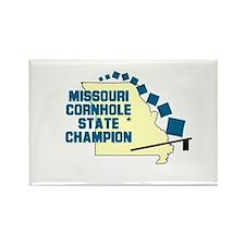 Missouri Cornhole State Champ Rectangle Magnet