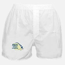Missouri Cornhole State Champ Boxer Shorts